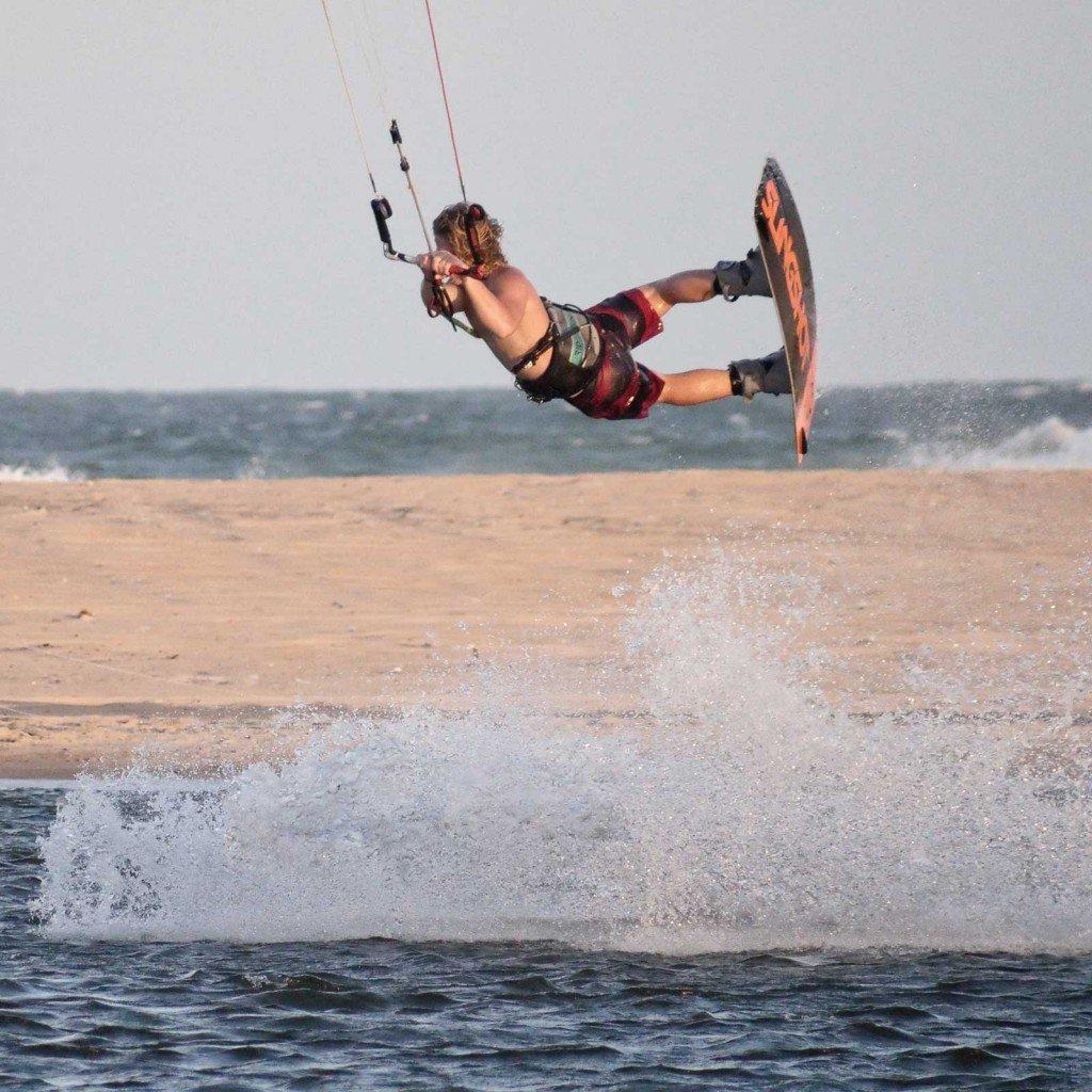 Corse kitesurf freestyle wake