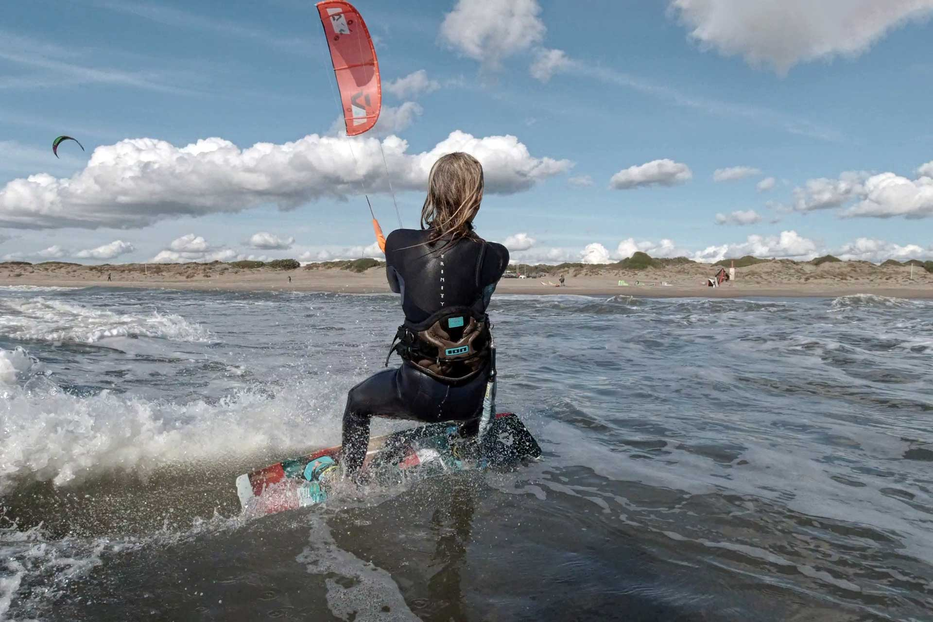 Lezioni Kitesurf Downwind