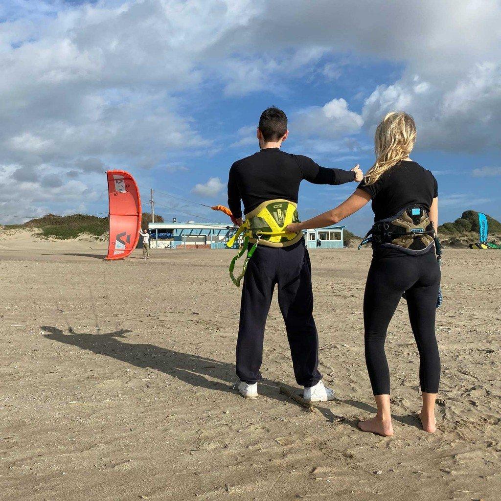 Corso kitesurf principianti
