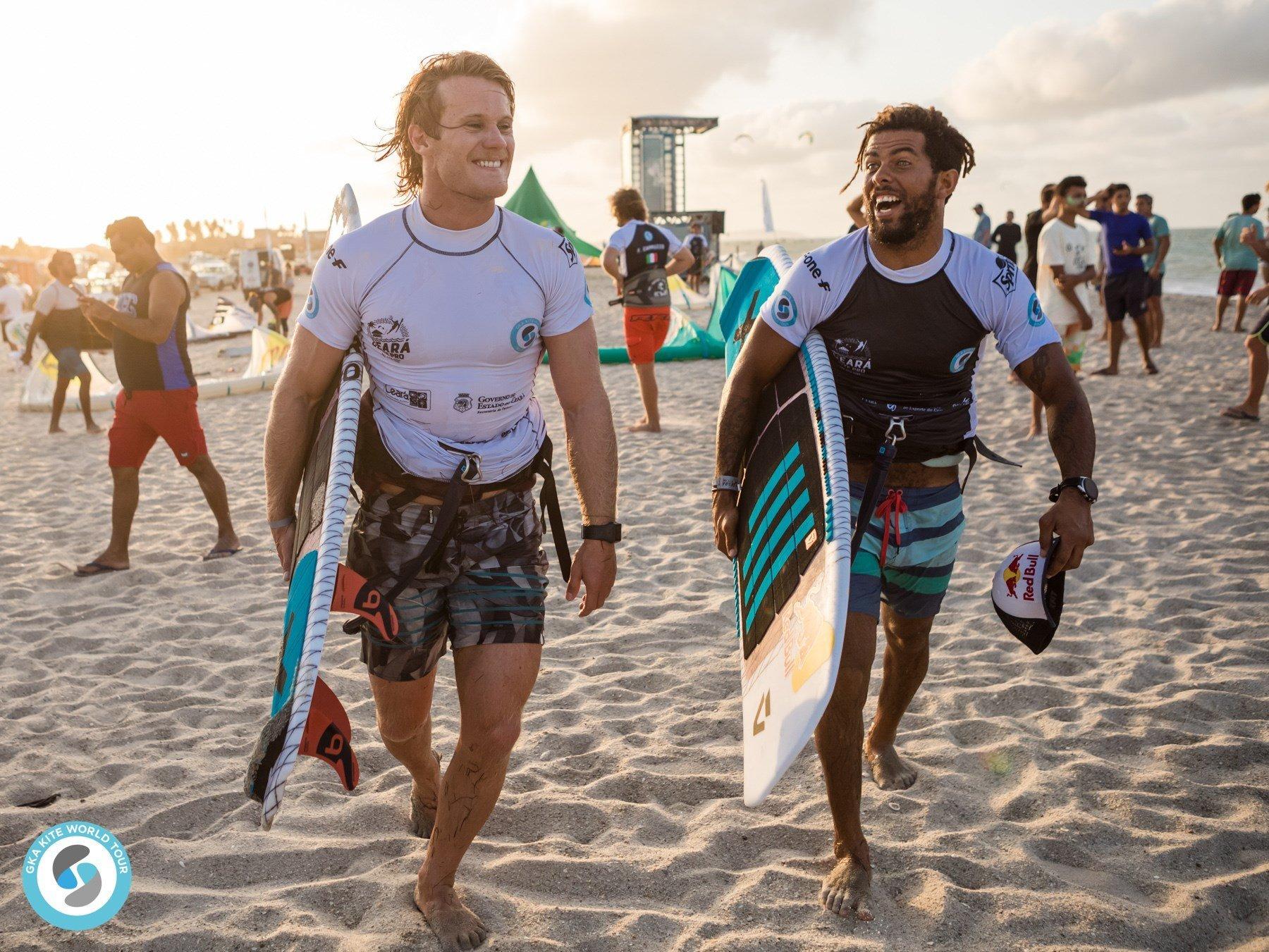 Campionato Mondiale GKA Kite Surf Brasile 2019- Eliminazione Singola Uomini