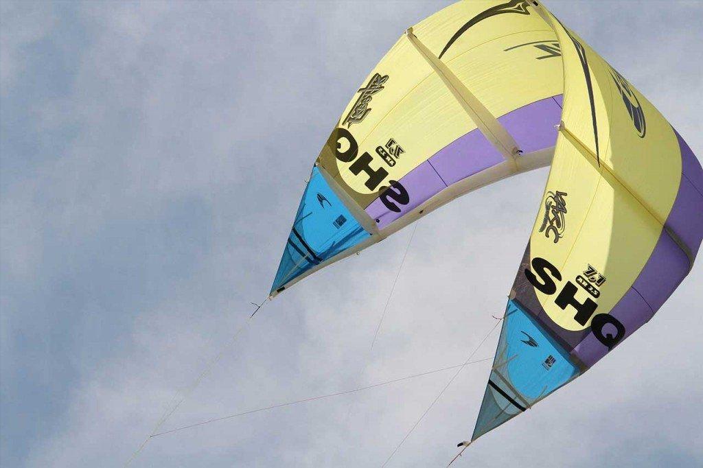 Kitesurf la storia - primi kite