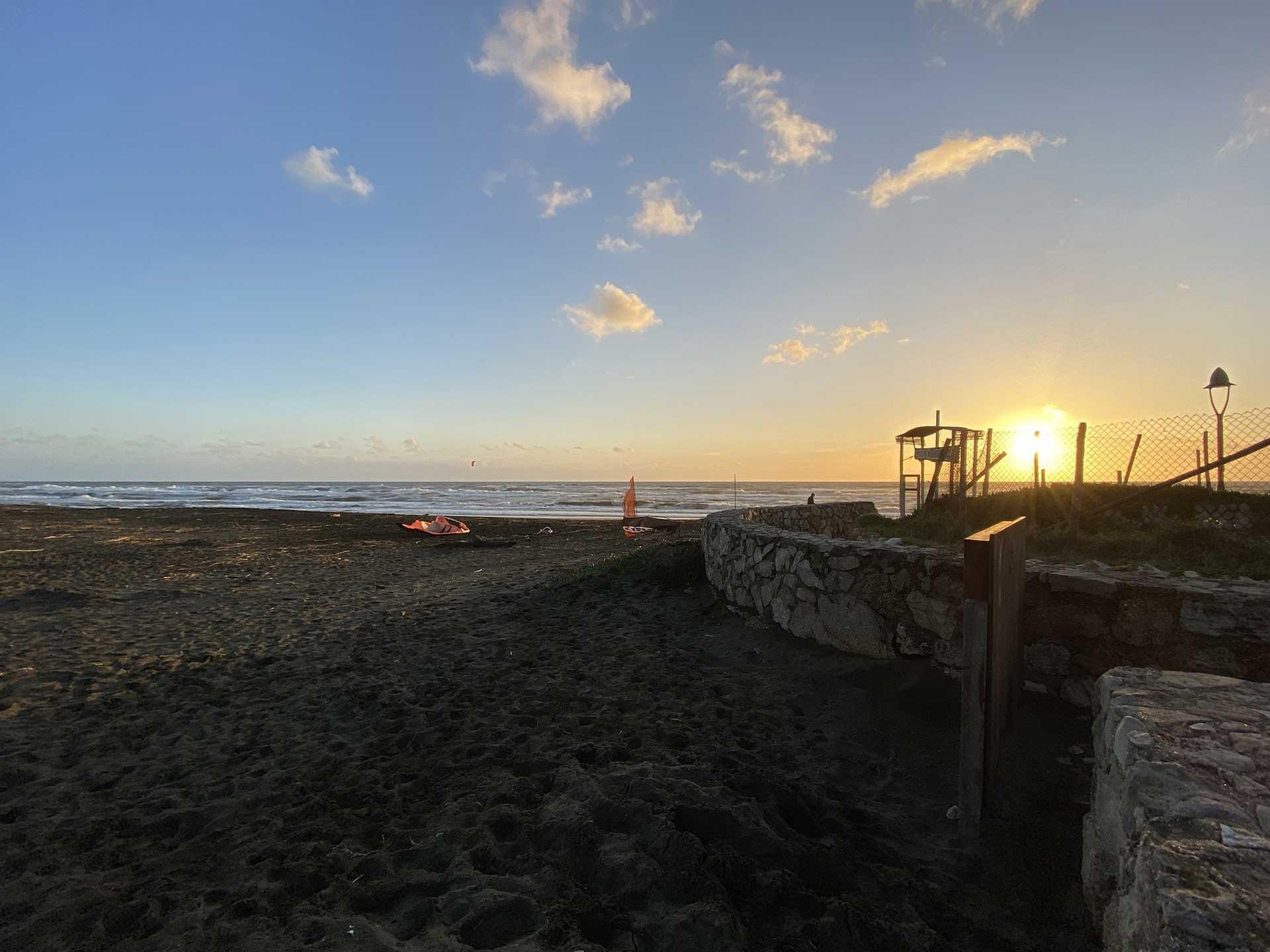 kitesur spot Marina di San Nicola