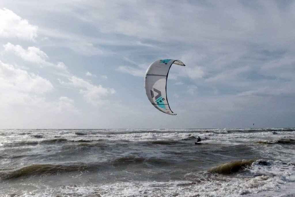 Lezione Kitesurf Downwind Roma