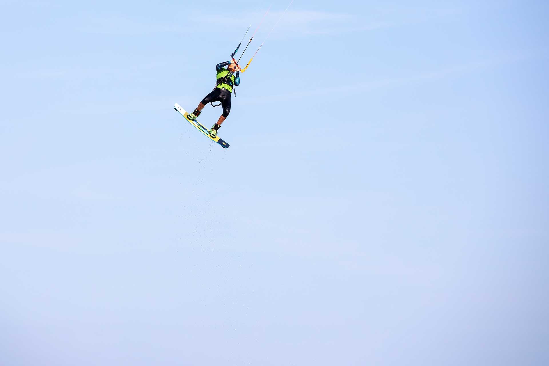 Lezioni Kitesurf Big Air