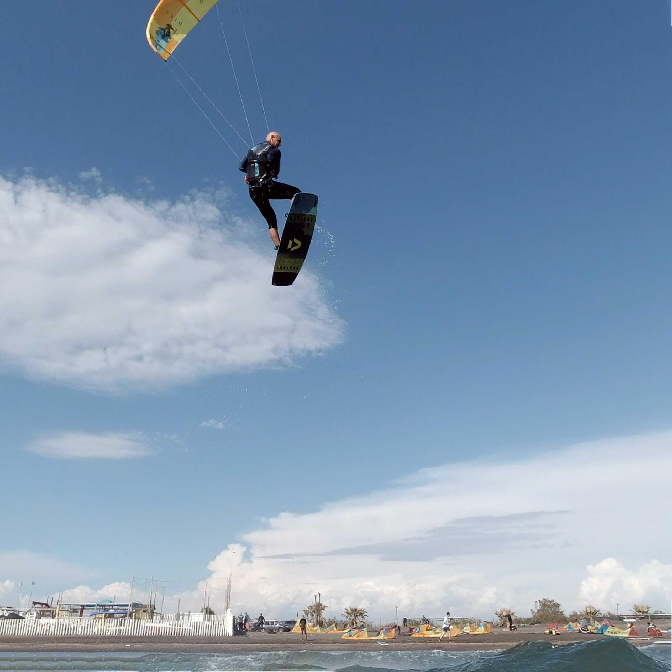 Imparare il salto - Kitesurf