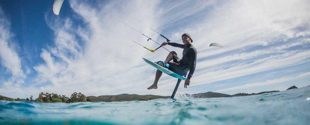 Corso di kitesurf foil