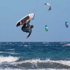 Come fare Kitesurf Strapless