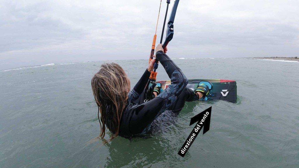 Partenza ne l kitesurf - come fare