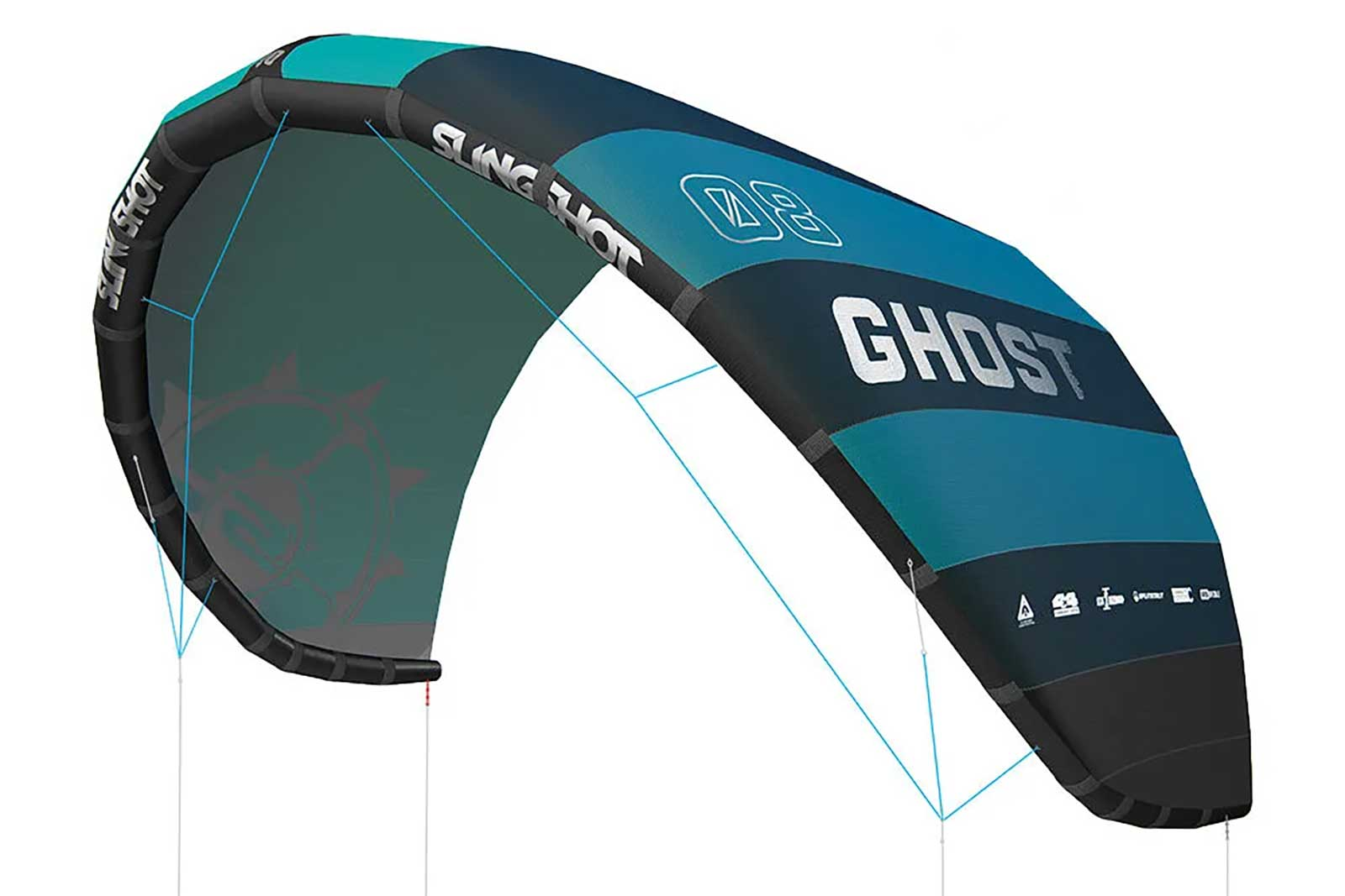 Ghost kite Slingshot