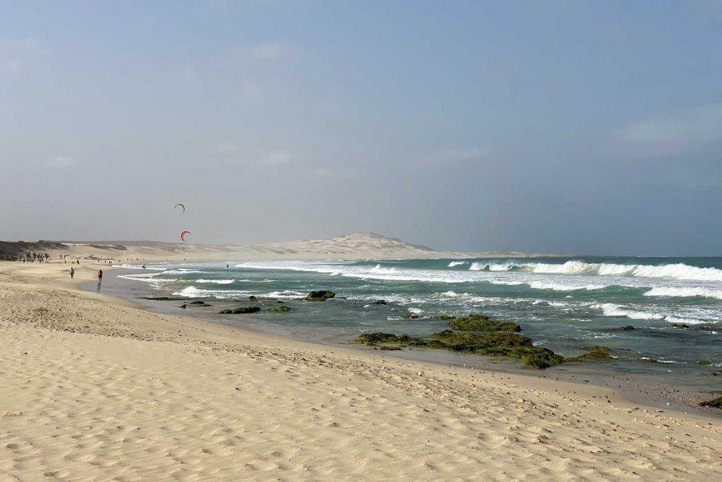 Praya de Chaves kitesurf spot
