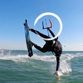 Regolazione barra kitesurf