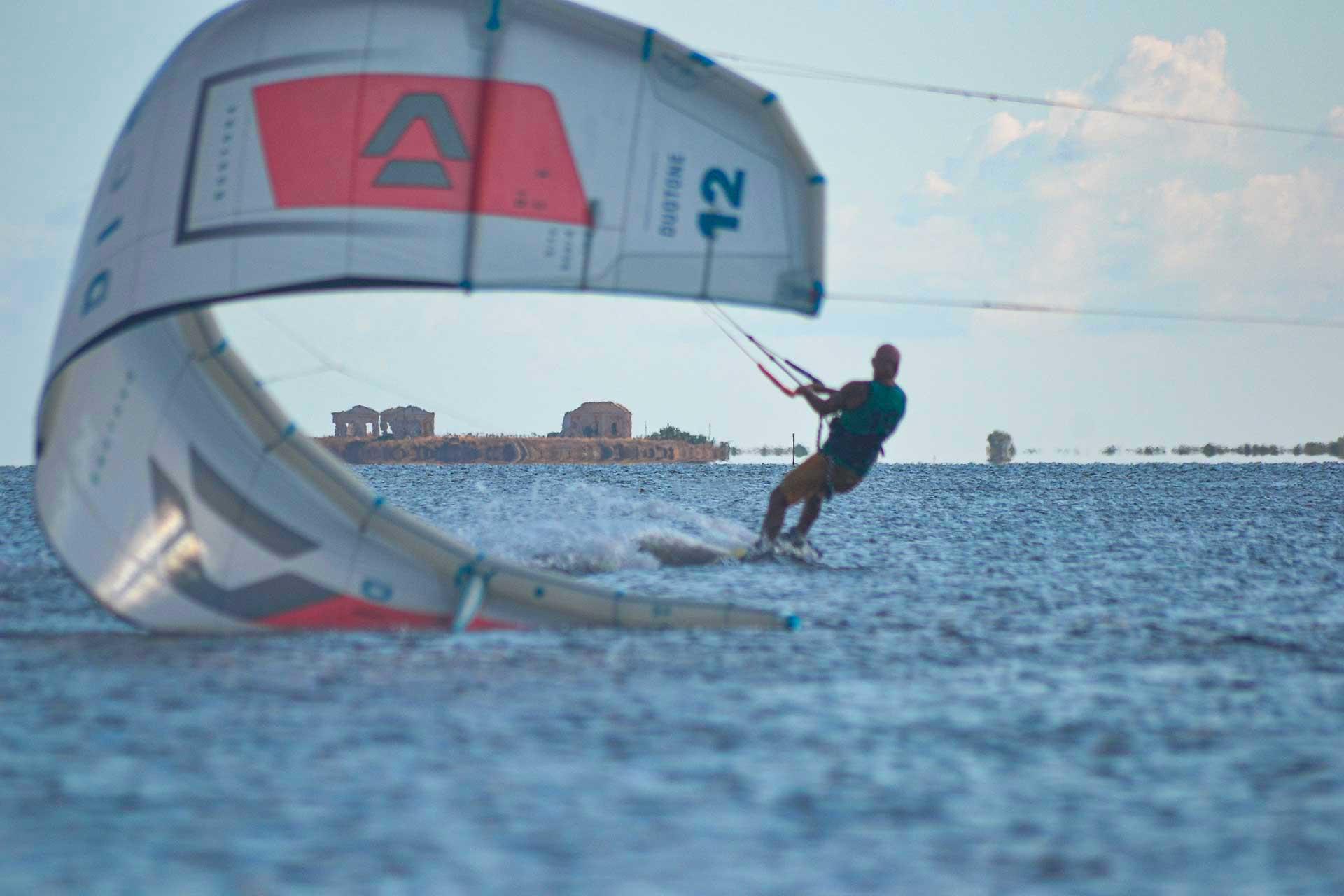 Kitesurf Stagnone lo spot con acqua piatta