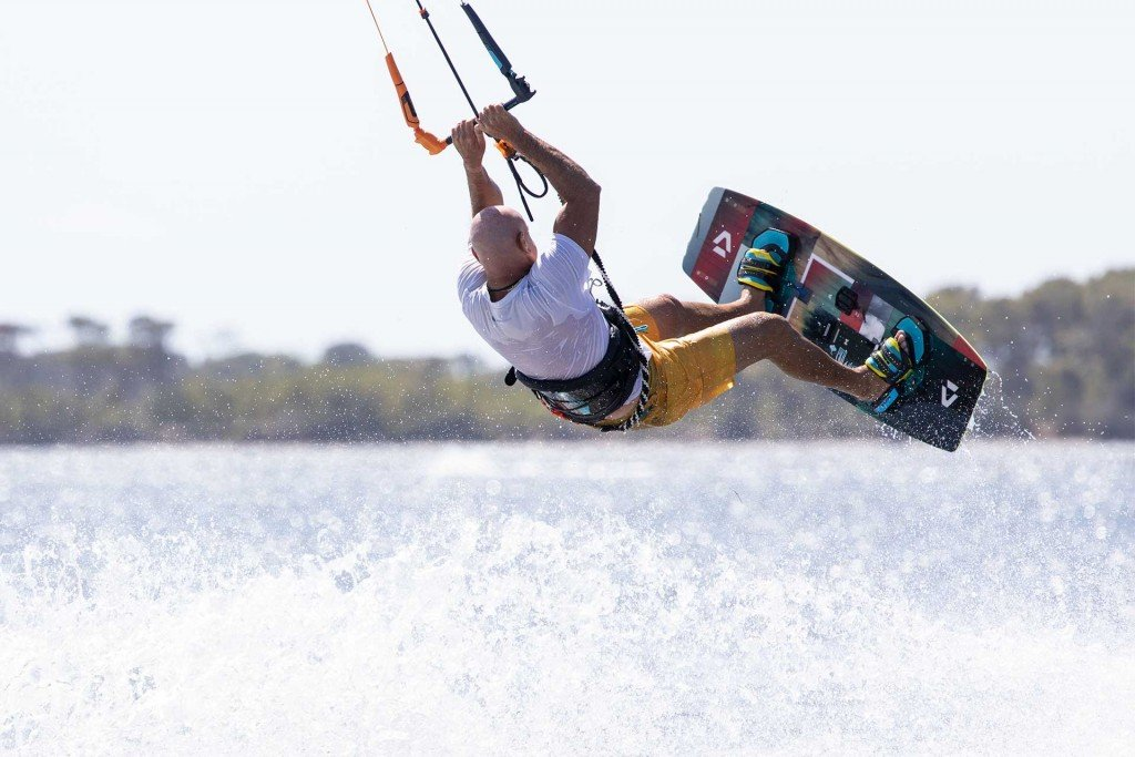 Stagnone Kitesurf freestyle kite camp