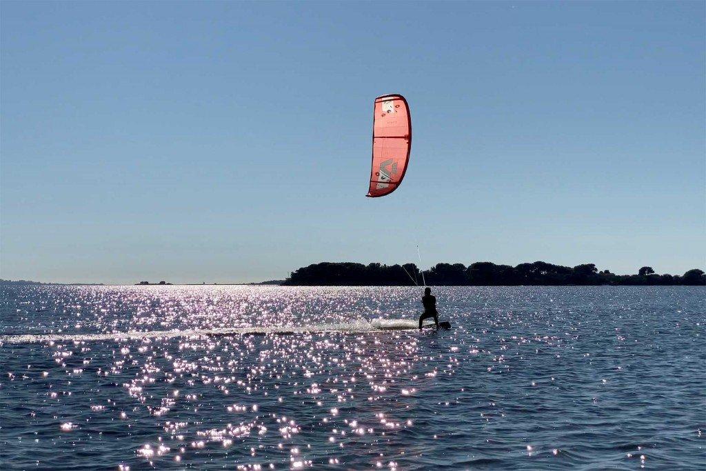 Kitesurf autunno Stagnone
