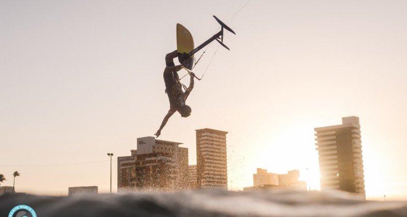Kitesurf freestyle Hydrofoil
