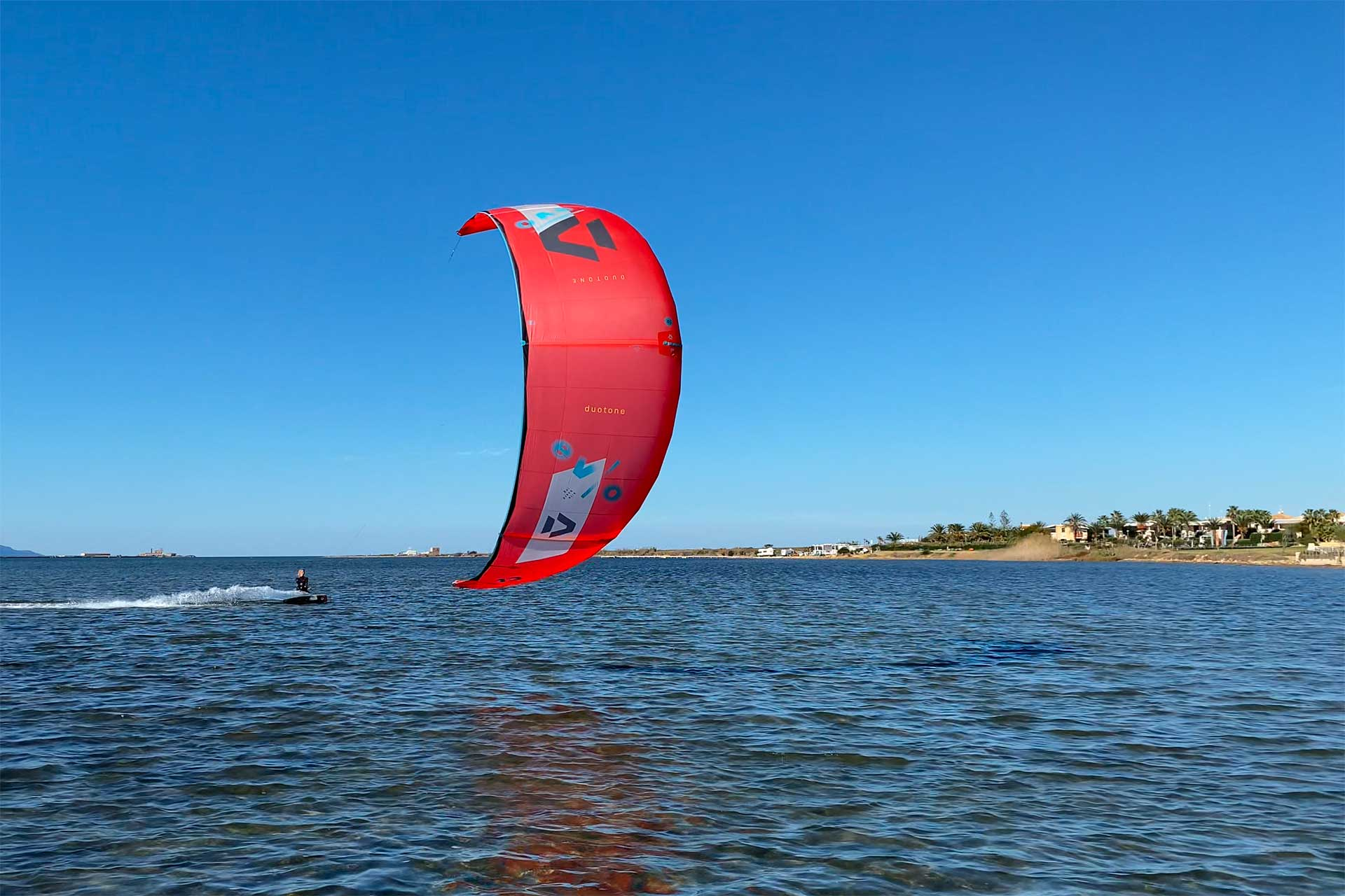 Kitesurf nella Laguna dello Stagnone